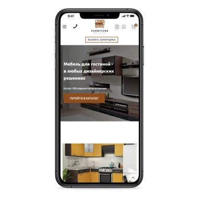 готовые сайты мебель